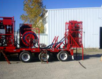 Trailer Coiled Tubing